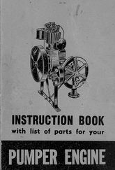 Media 1940s Rosebery Pumper Engine Instruction Book Industrial