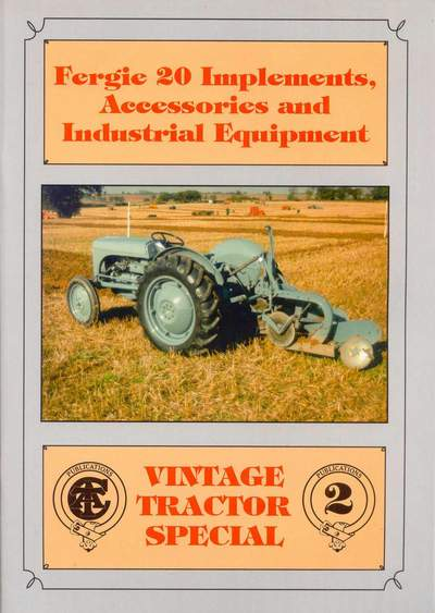Agriculture/farming Original Ferguson Linkage Winch Instruction Book Special Buy