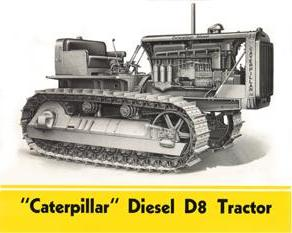 Media Brochures 1958 Caterpillar D8 Series H Crawler Tractor Australian Sales Brochure With The Best Service